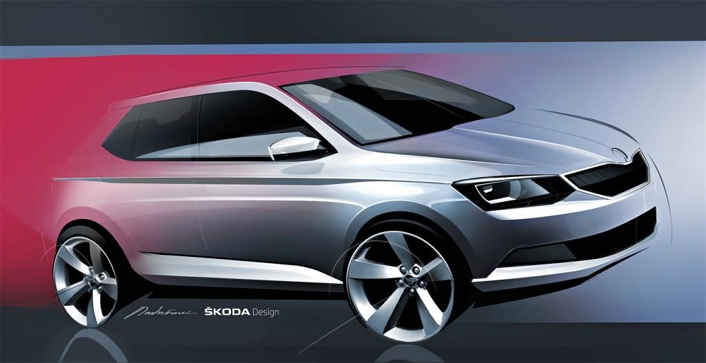 Koncept Škoda Fabia III