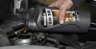 naliti oleje